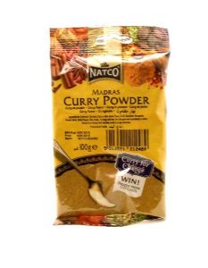 Medium Madras Curry Powder | Buy Online at the Asian Cookshop